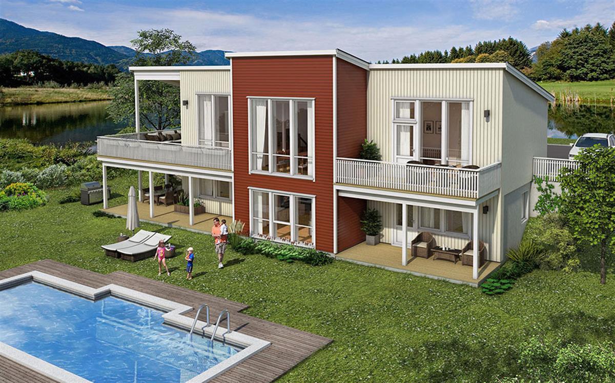 Hus 1 Norge Moderne Ånnøy eksteriør md