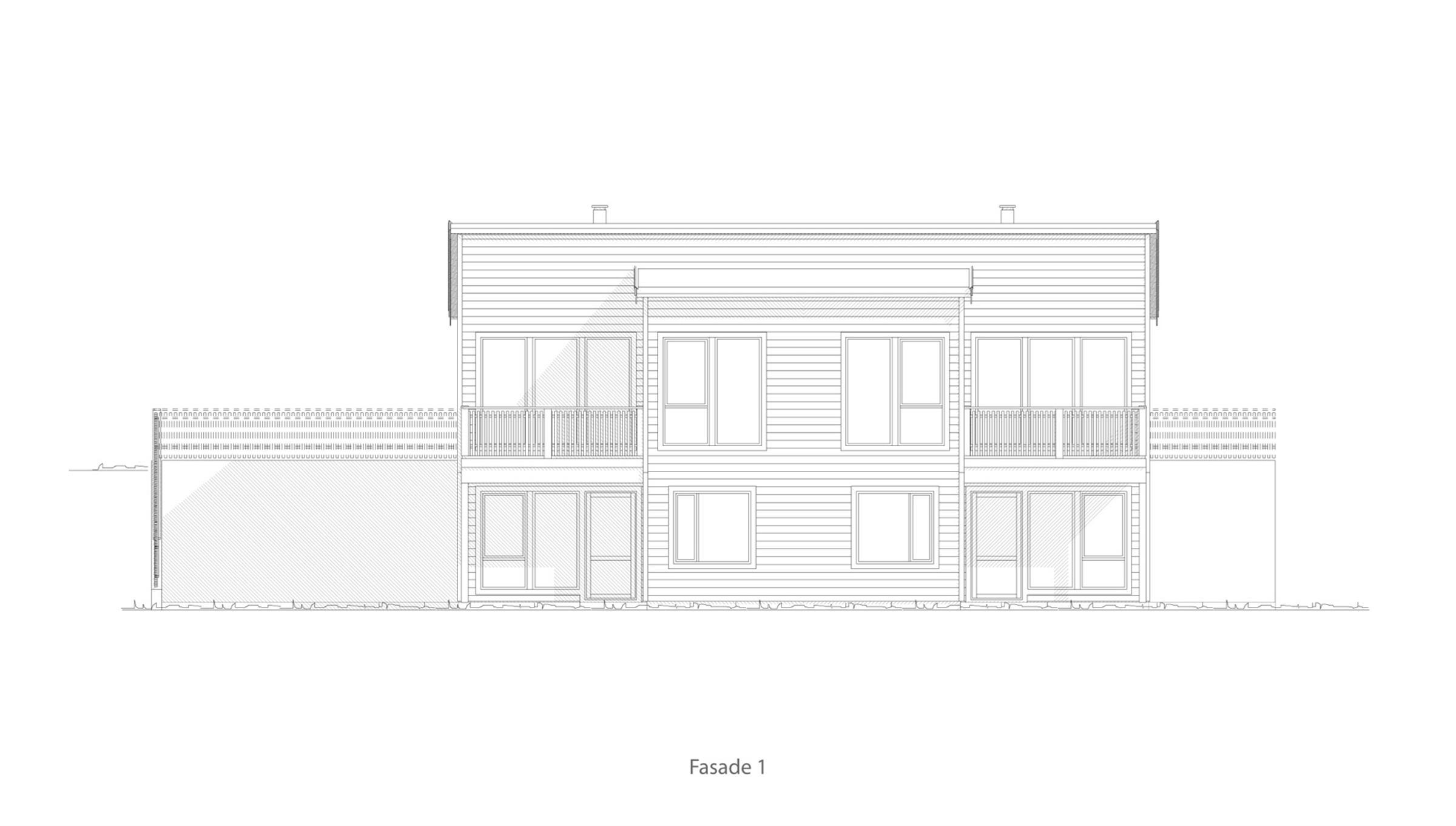 Åsgårdstrand fasade 1
