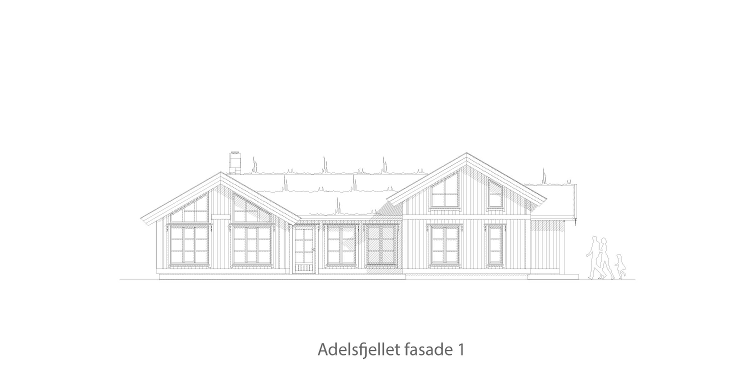 Adelsfjellet fasade 1