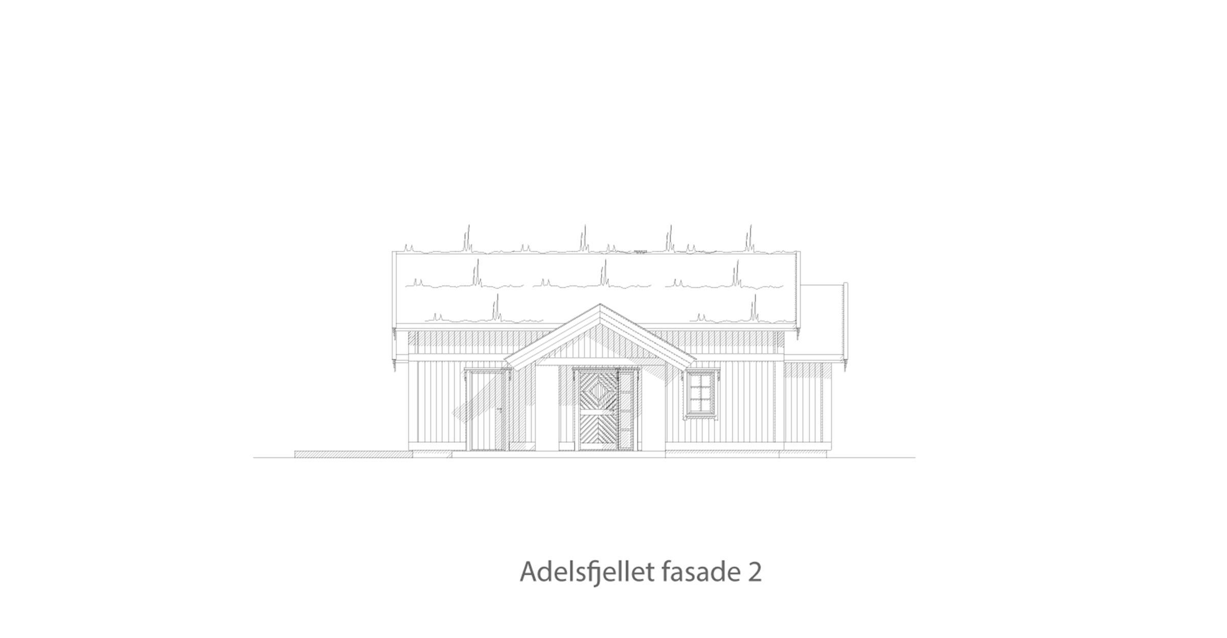Adelsfjellet fasade 2