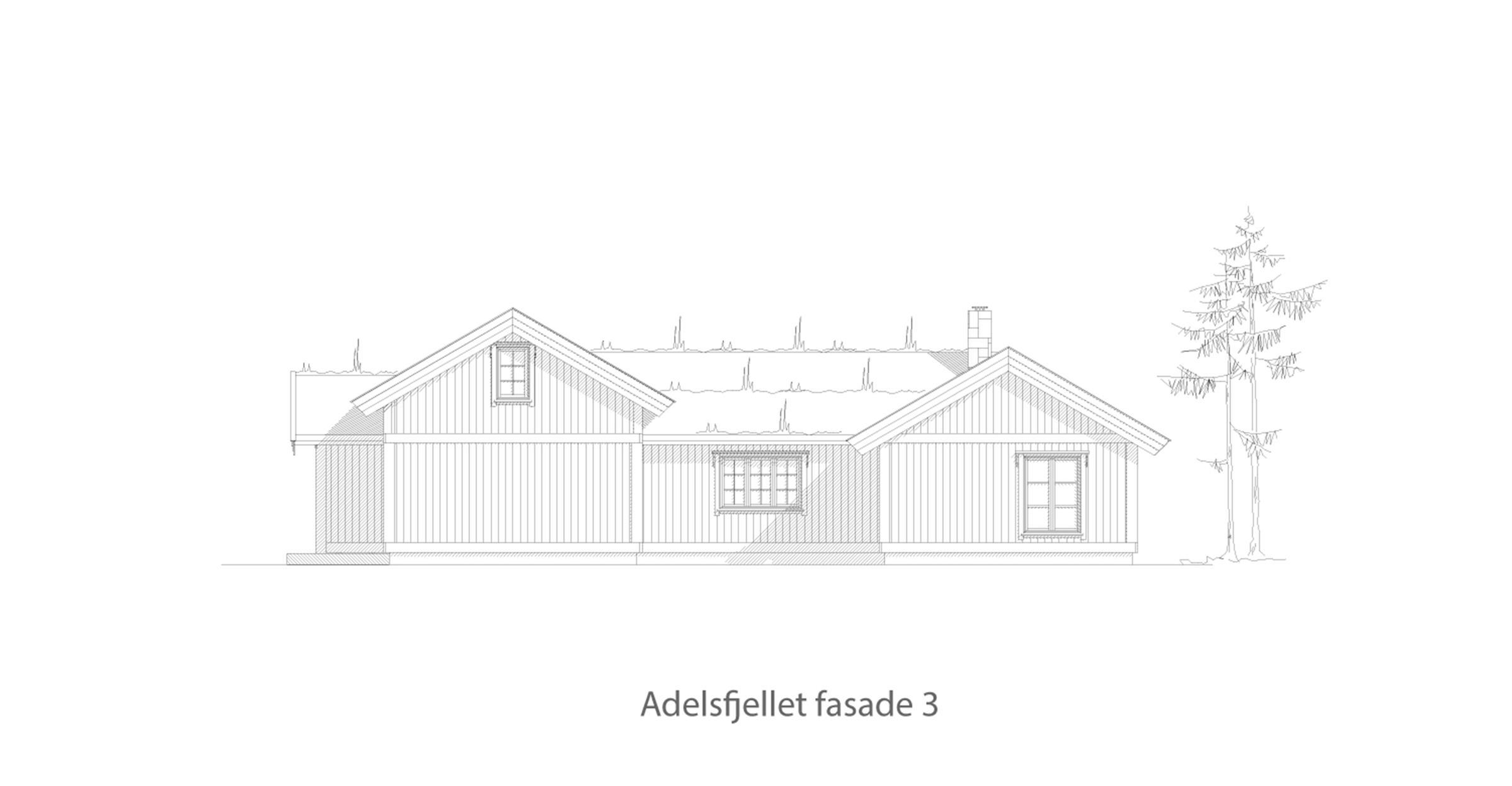 Adelsfjellet fasade 3