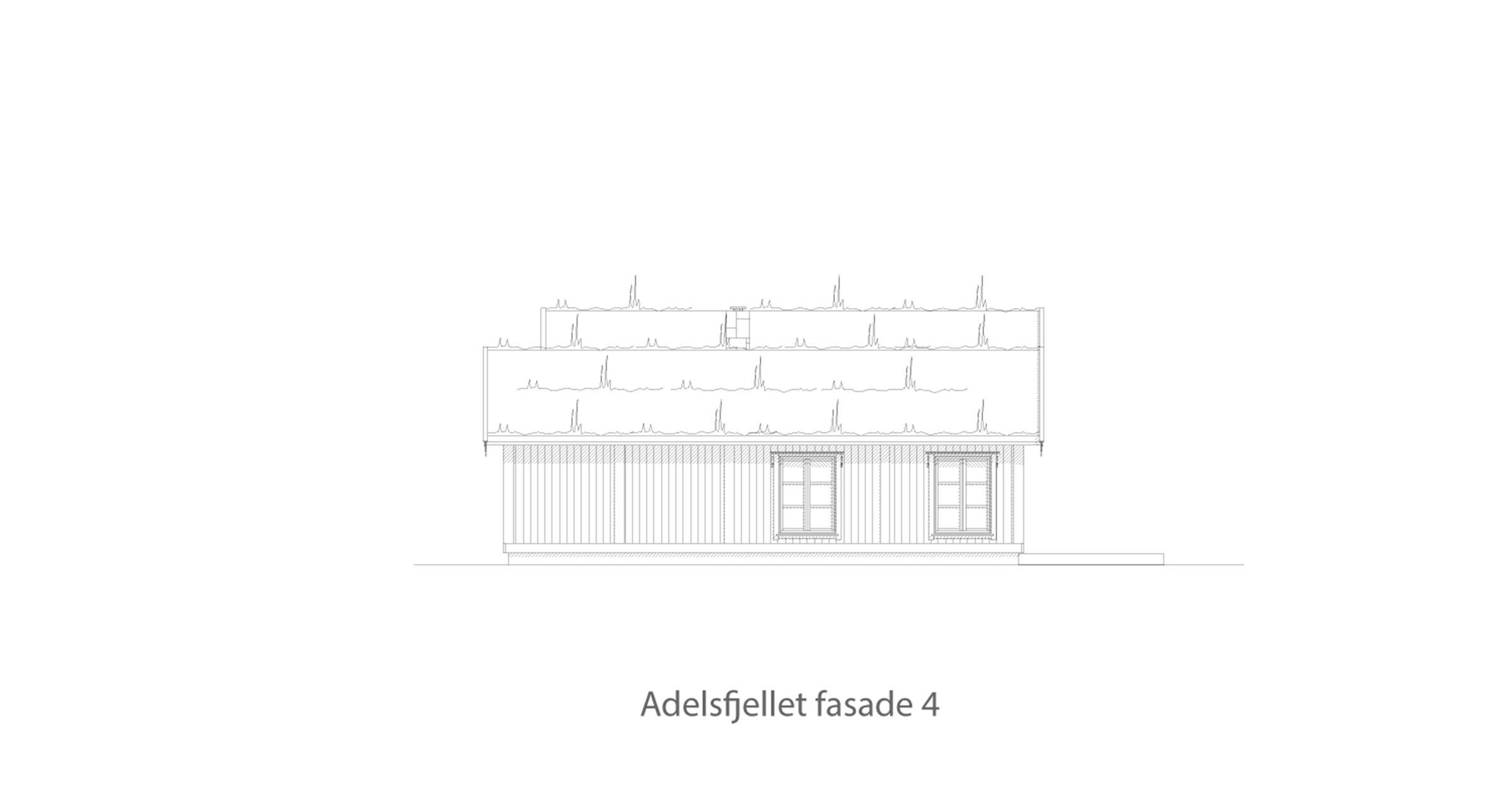 Adelsfjellet fasade 4