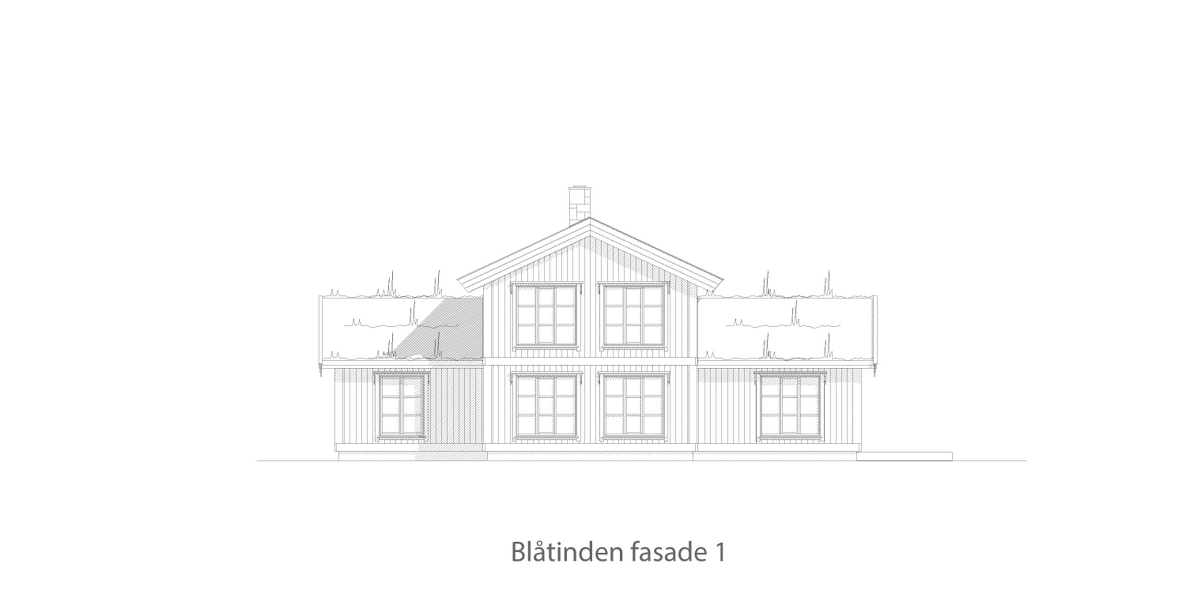 Blåtinden fasade 1