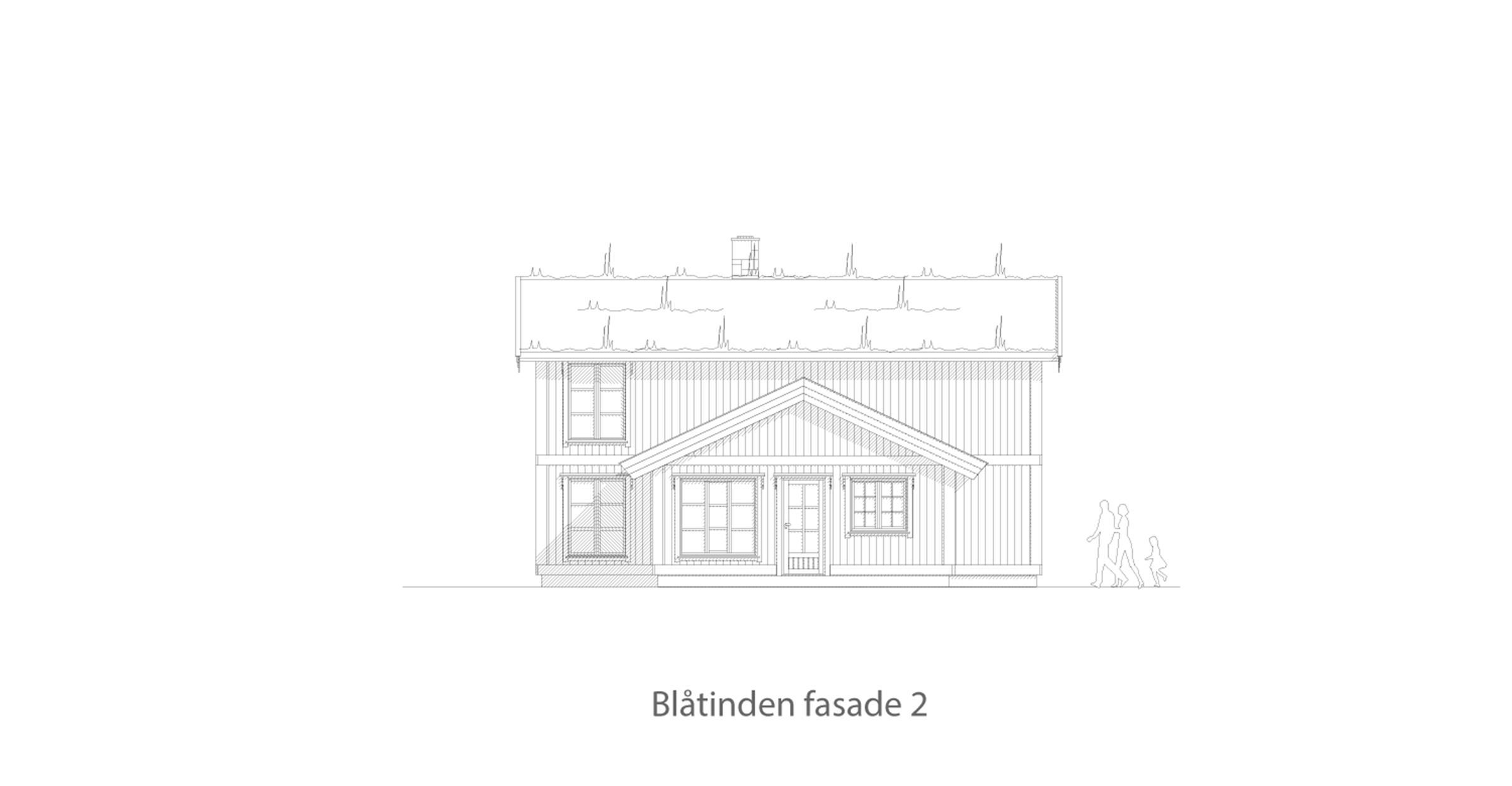 Blåtinden fasade 2