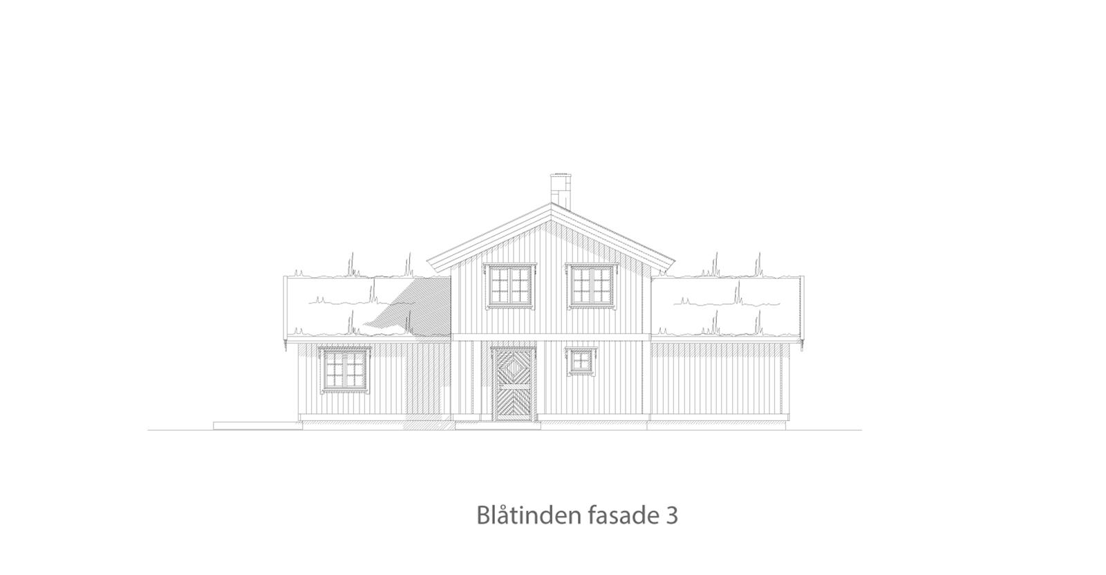 Blåtinden fasade 3