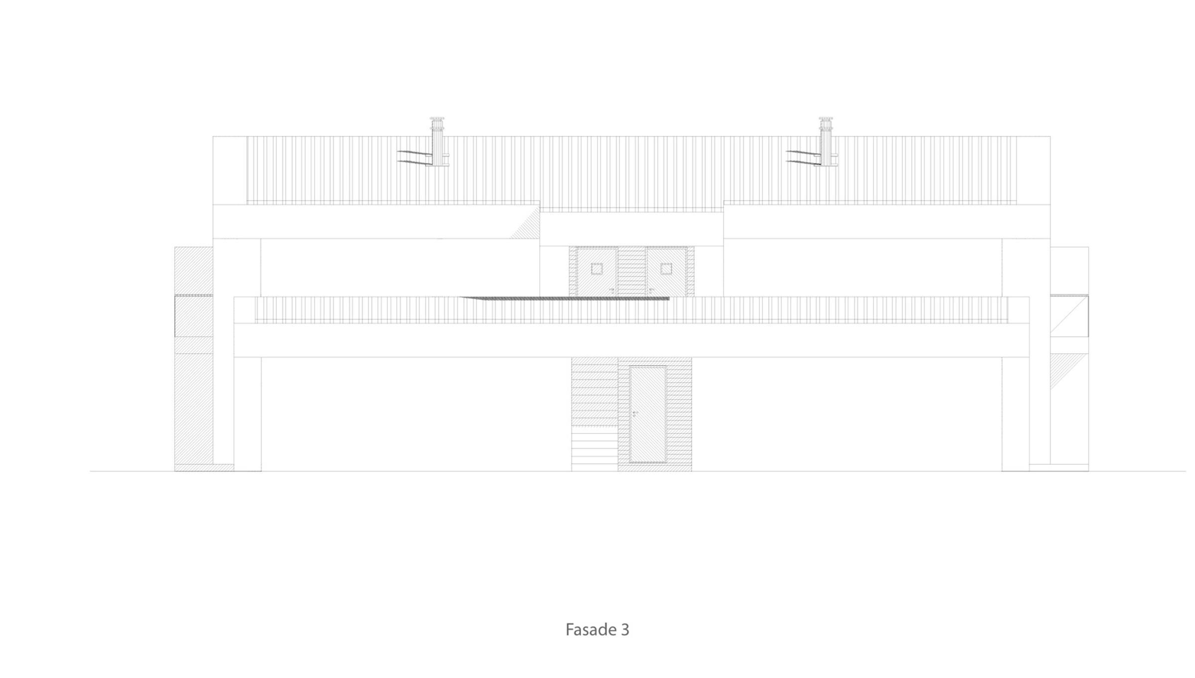 Bygdøy 4 mannsbolig  fasade 3