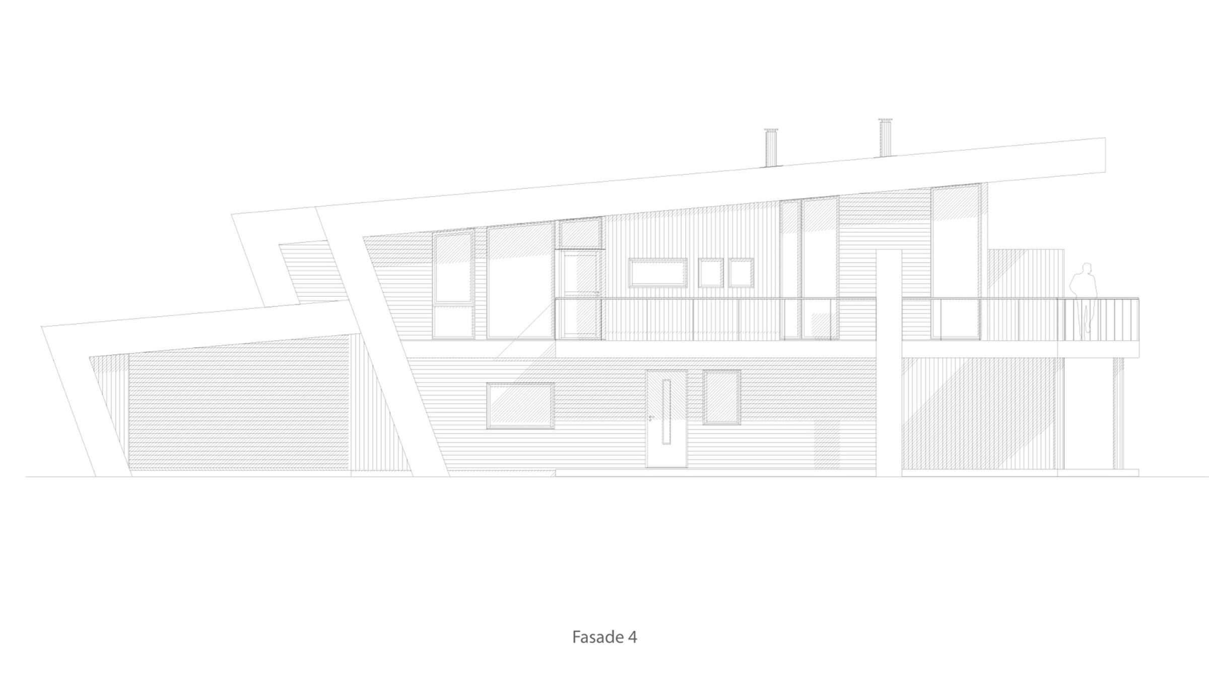 Bygdøy 4 mannsbolig  fasade 4
