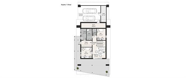 Bygdøy plantegning etasje 1
