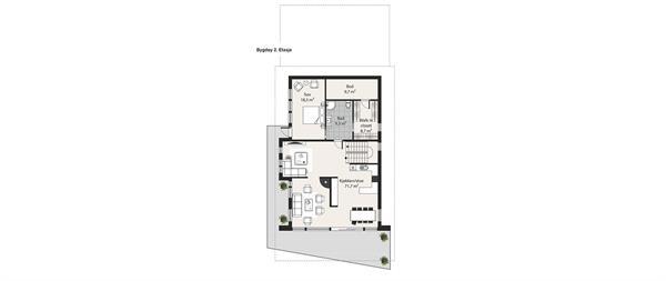 Bygdøy plantegning etasje 2