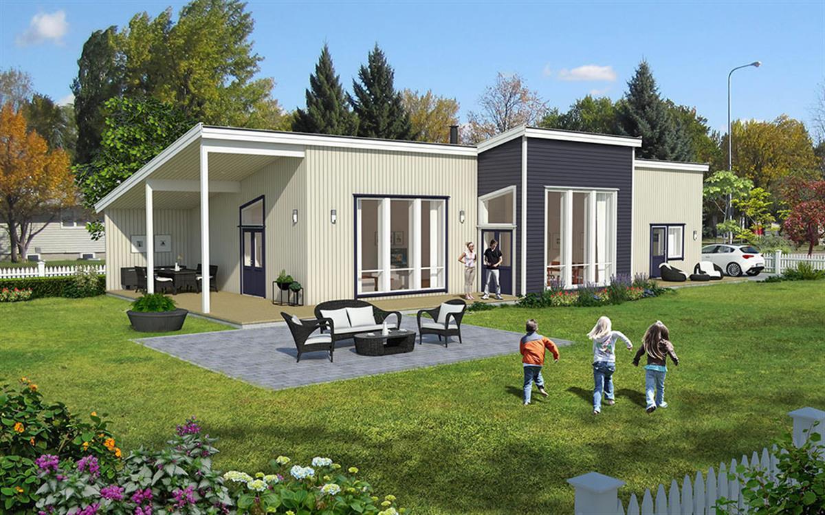 Hus 1 Norge Moderne Stavøy eksteriør