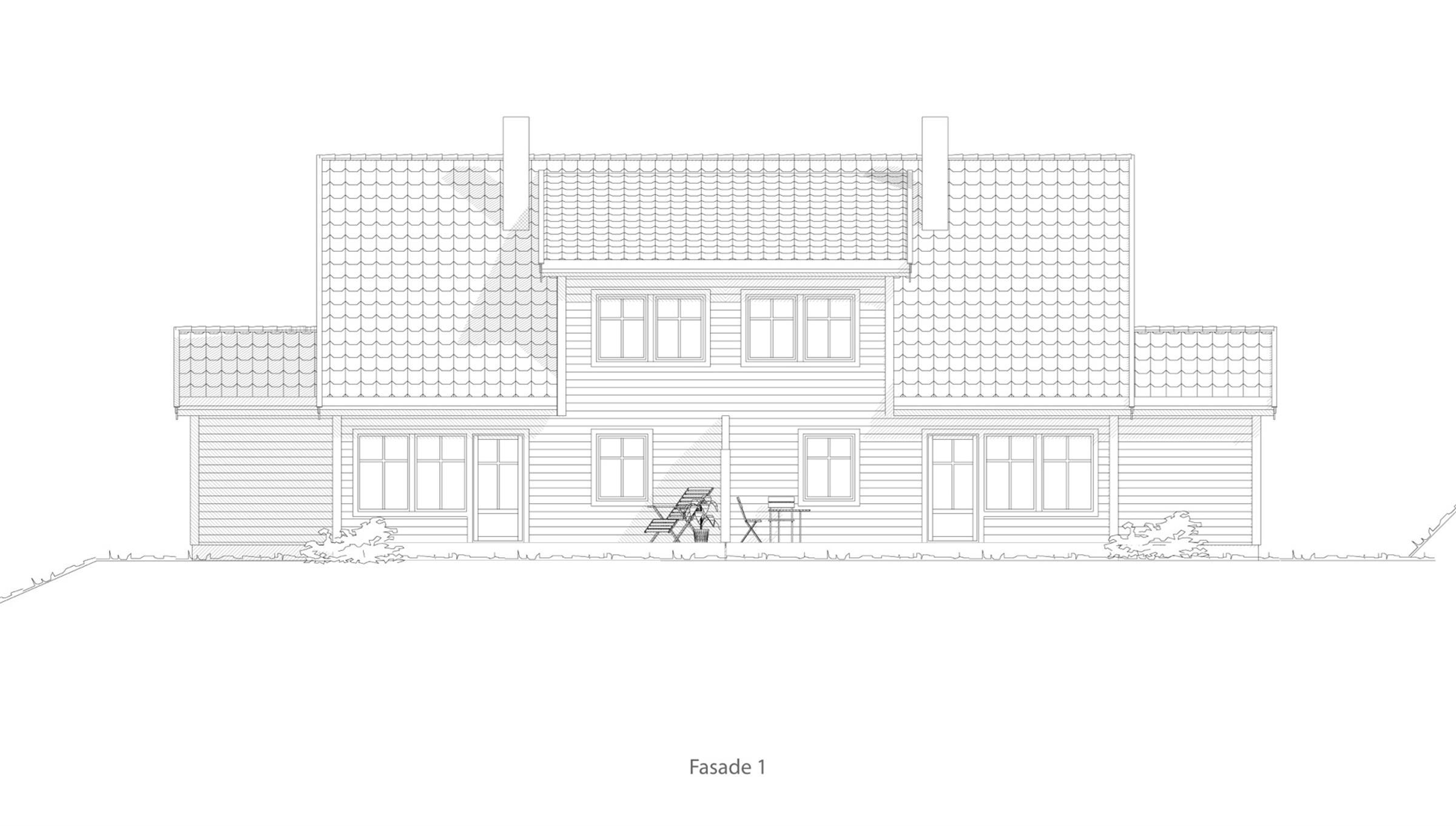 Elverum fasade 1
