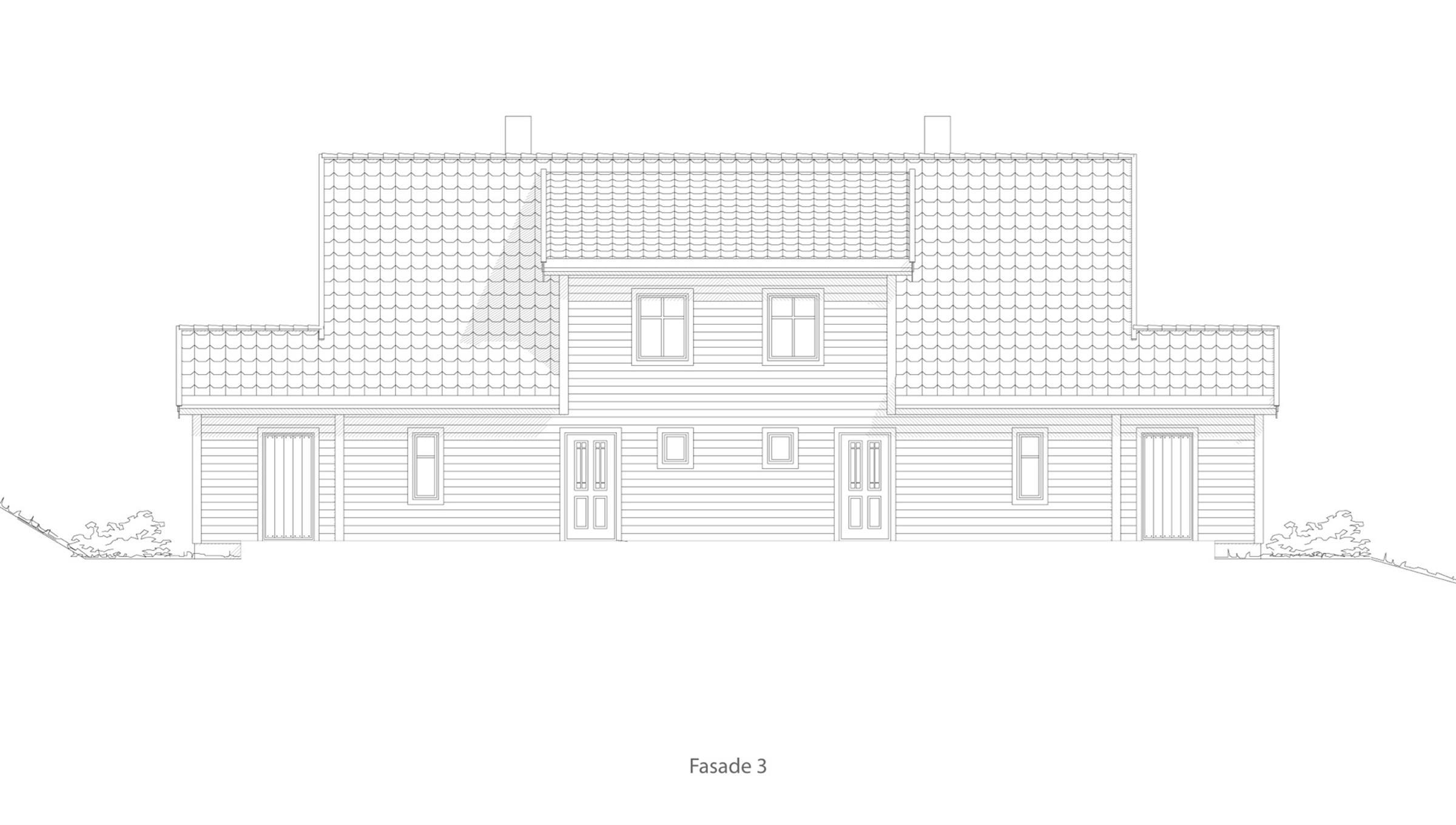 Elverum fasade 3