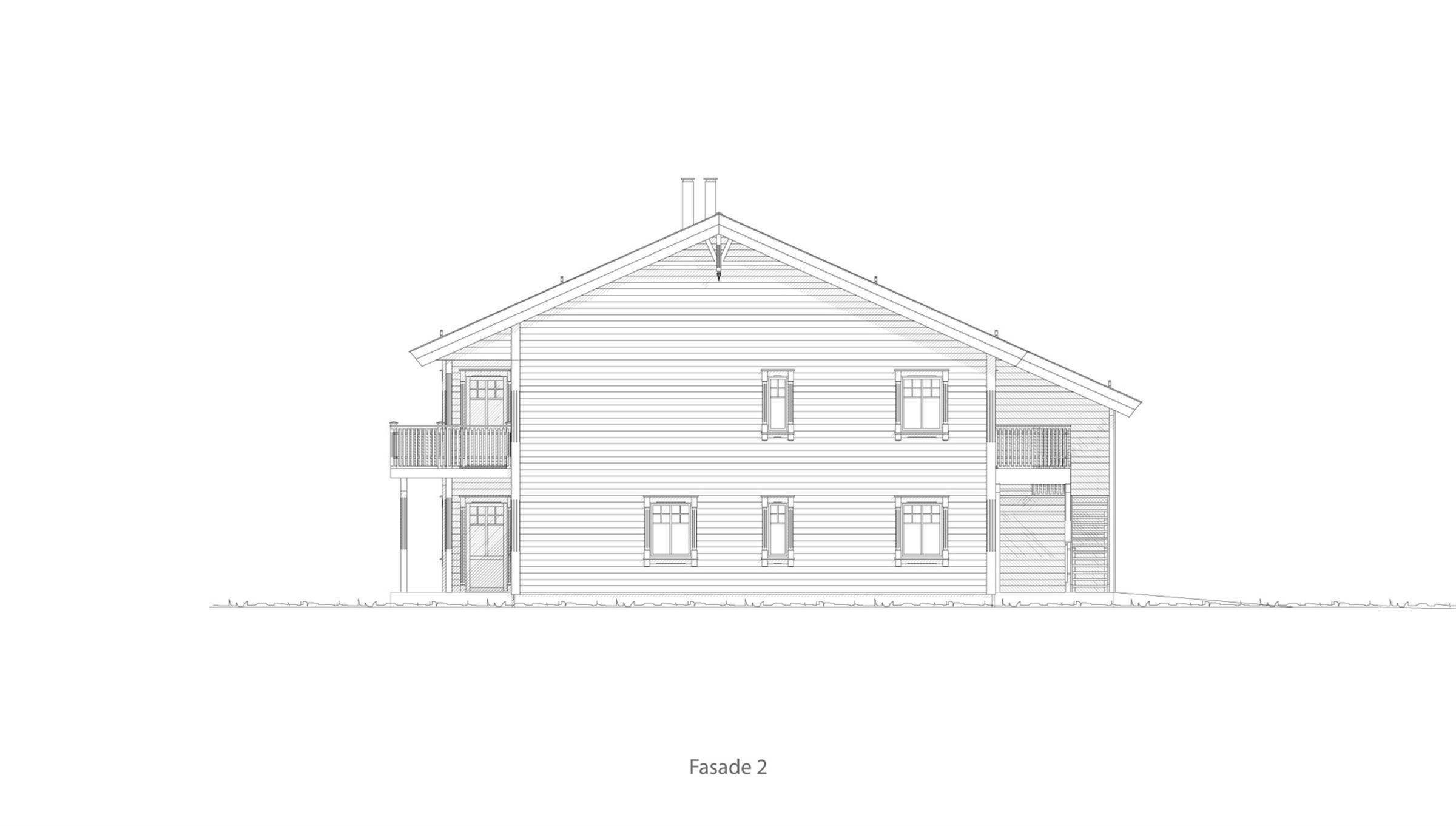Fagernes fasade 2