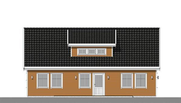 Grågås fasade 3