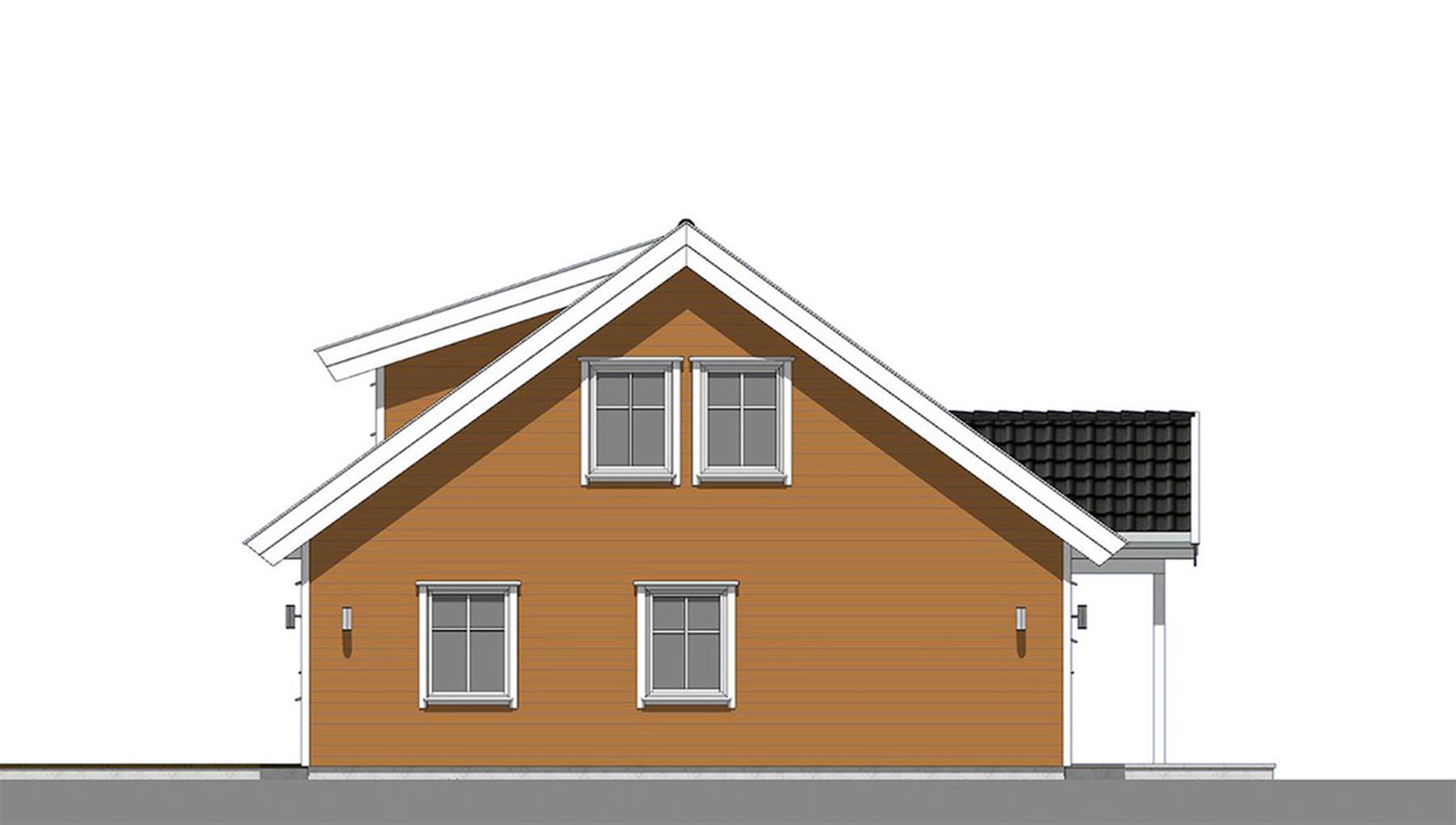 Grågås fasade 4