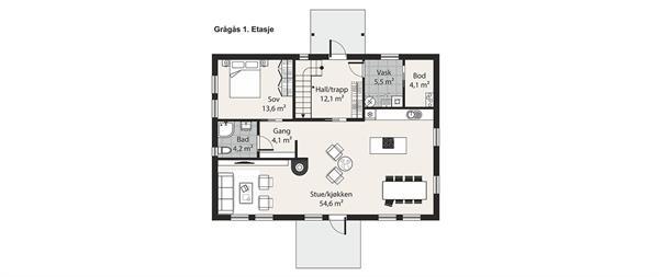 Grågås etasje 1