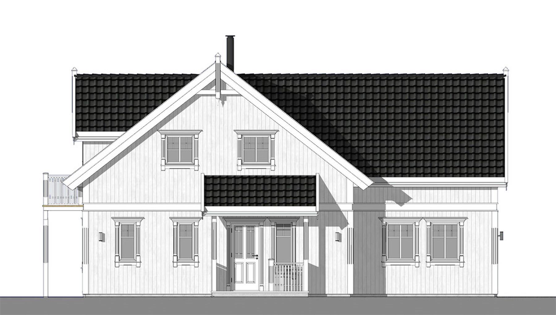 Hardangerfjord fasade 1