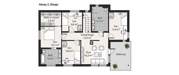 Harøy etasje 2