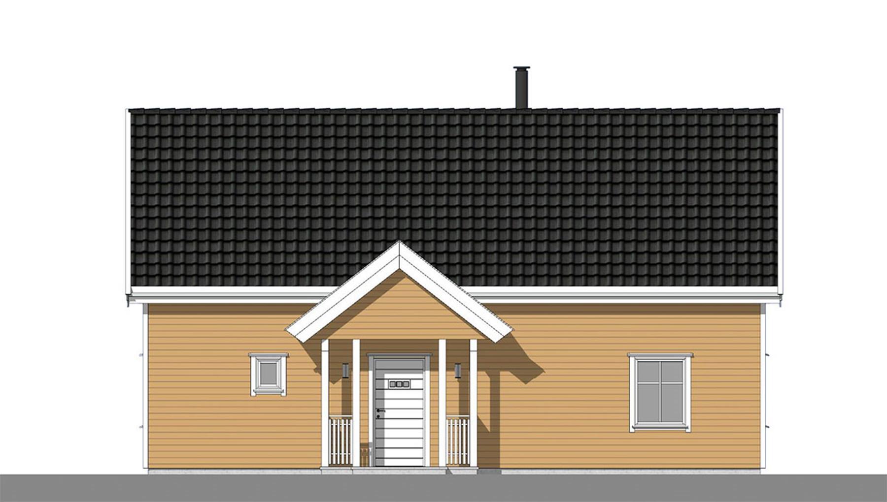 Havsule fasade 1
