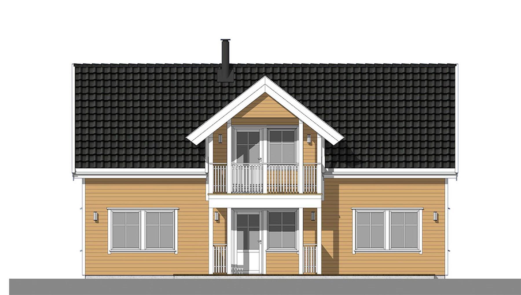 Havsule fasade 3