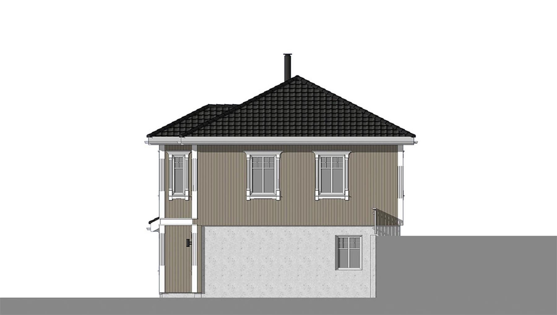 Herøyfjord fasade 2
