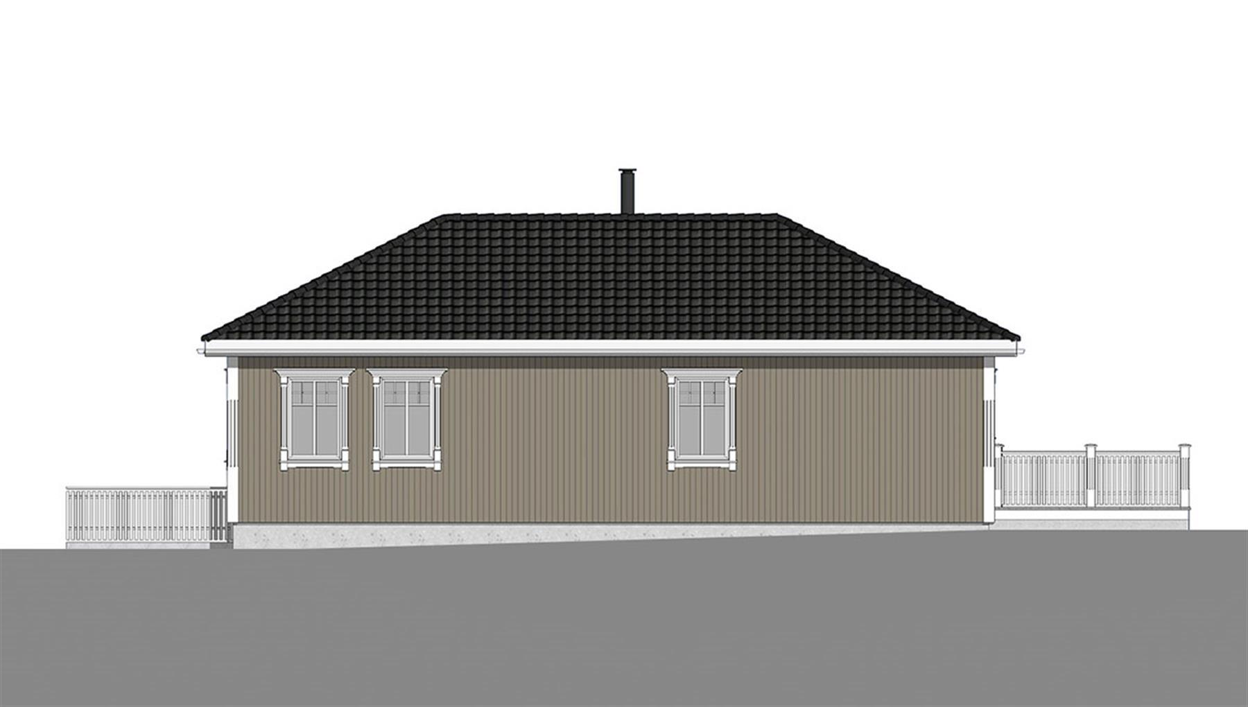 Herøyfjord fasade 3