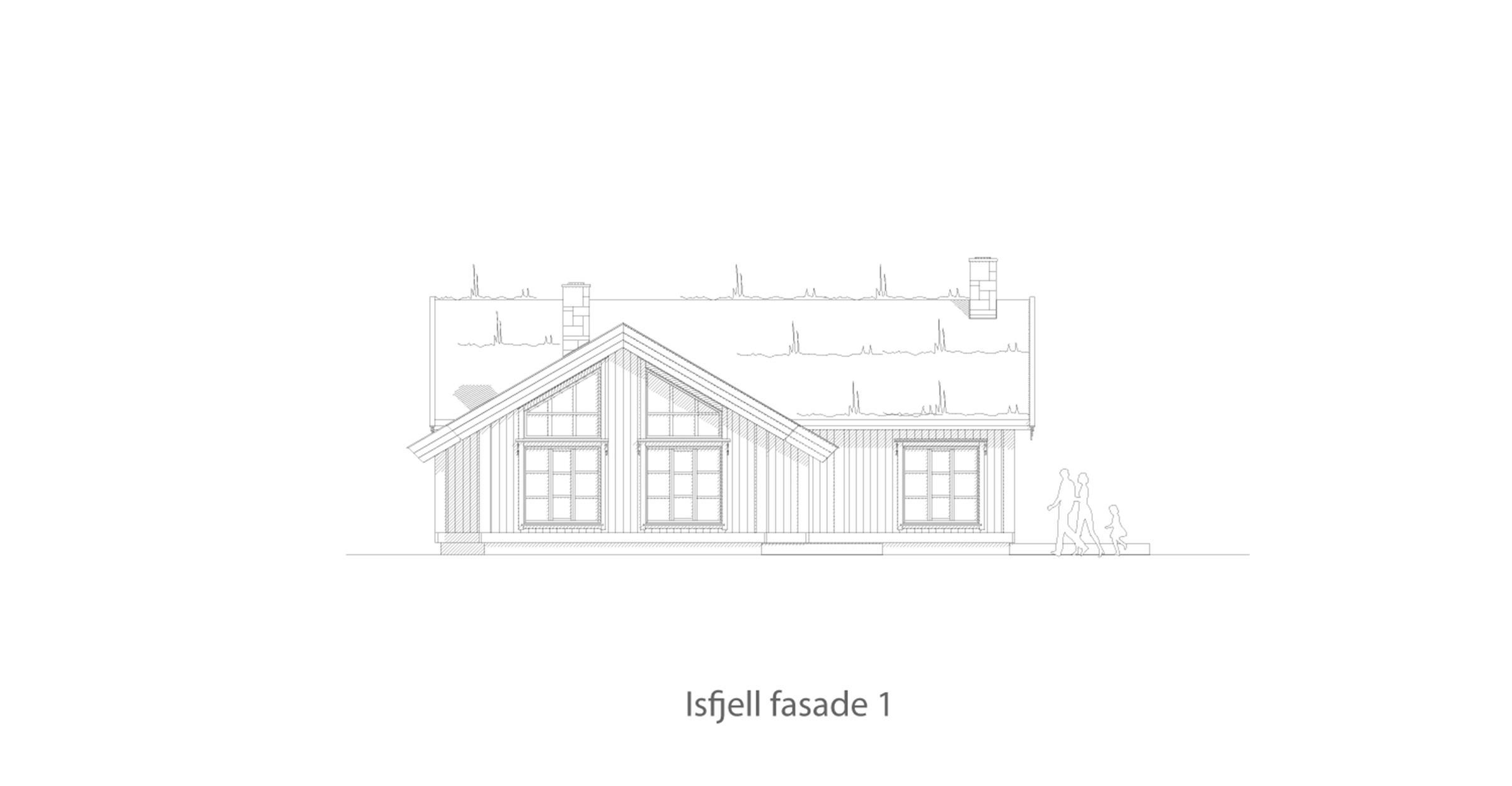 Isfjell fasade 1