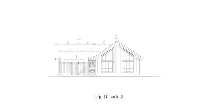 Isfjell fasade 2