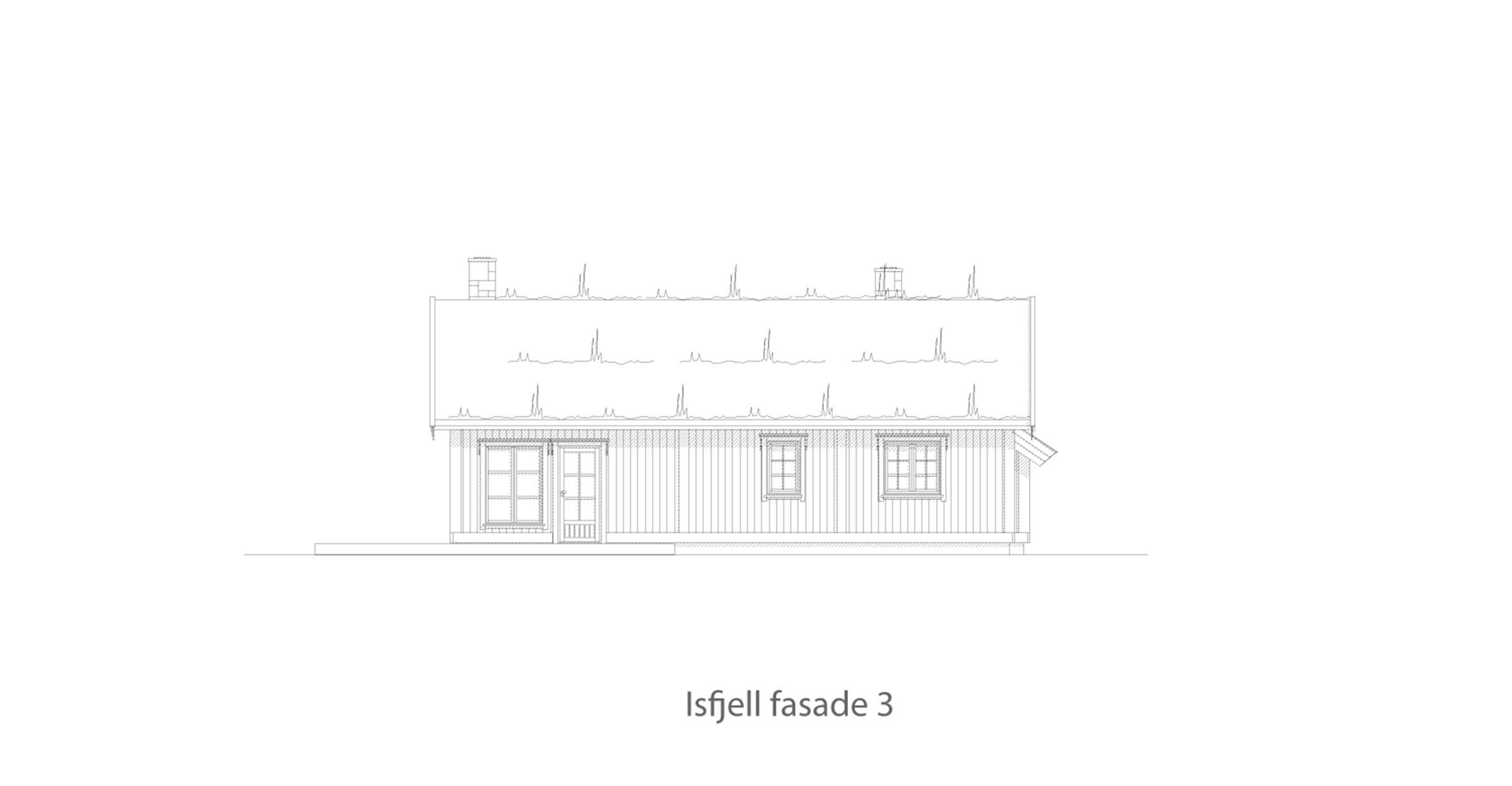 Isfjell fasade 3