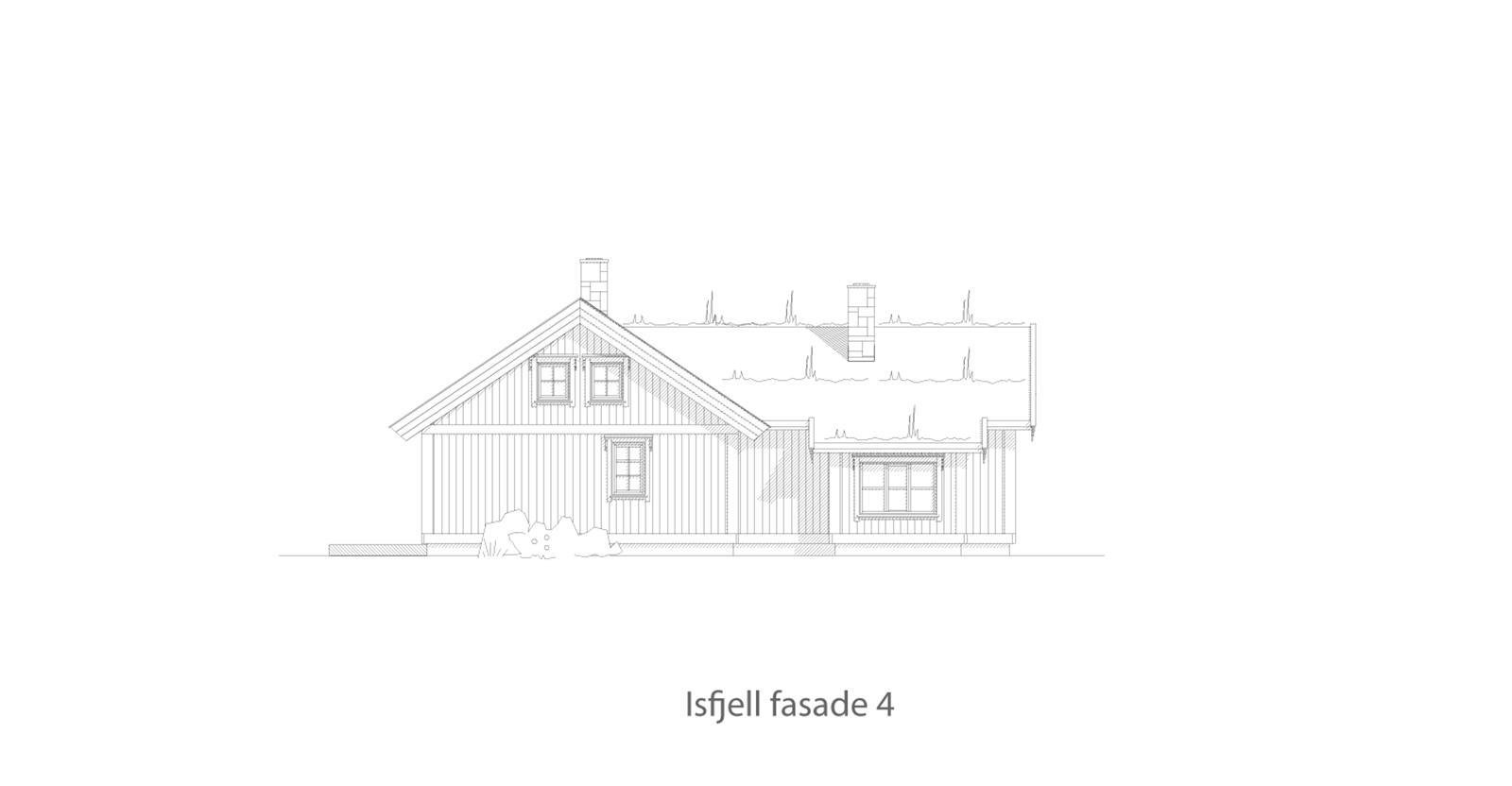 Isfjell fasade 4
