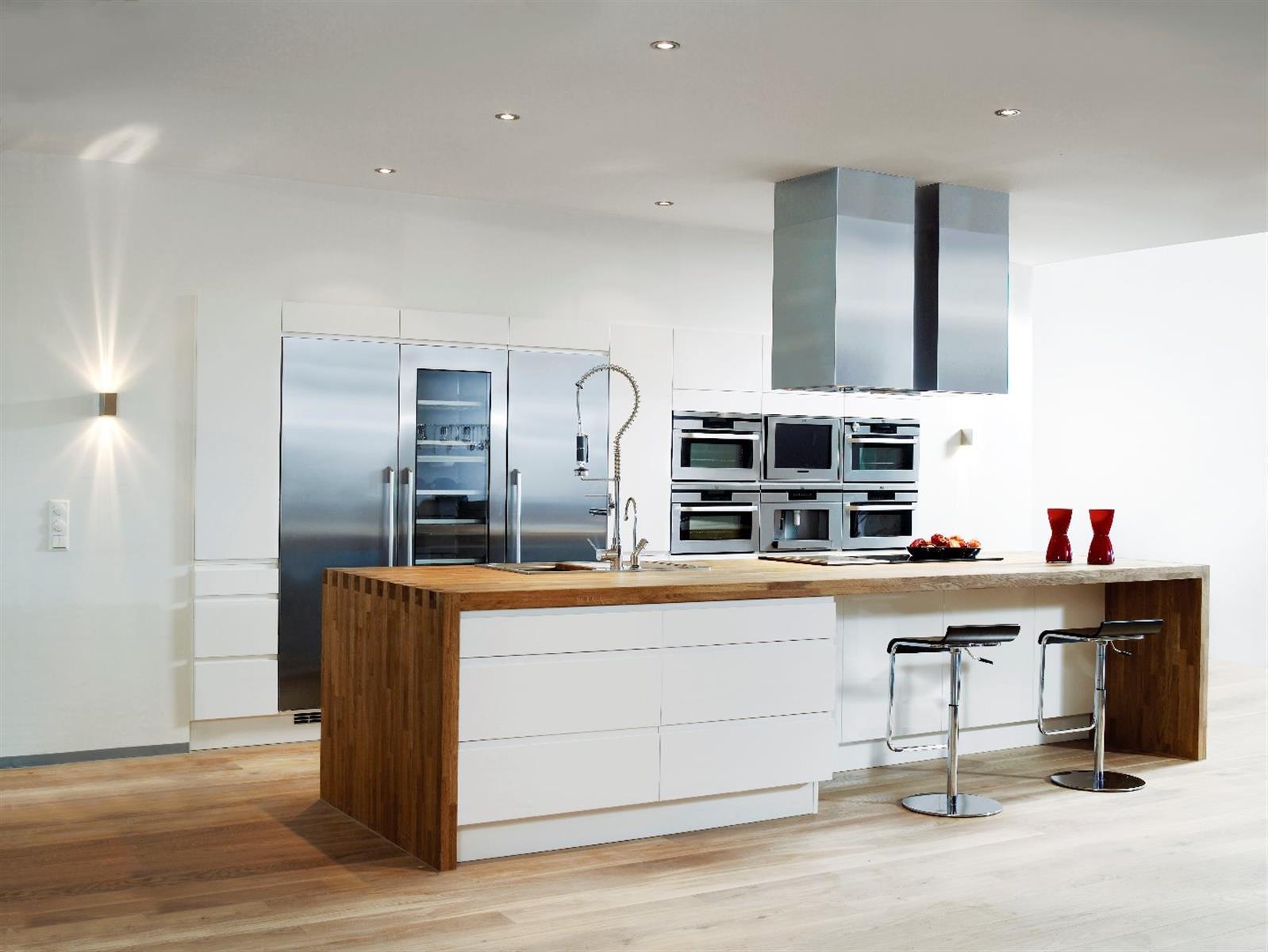 Kjøkken hvit