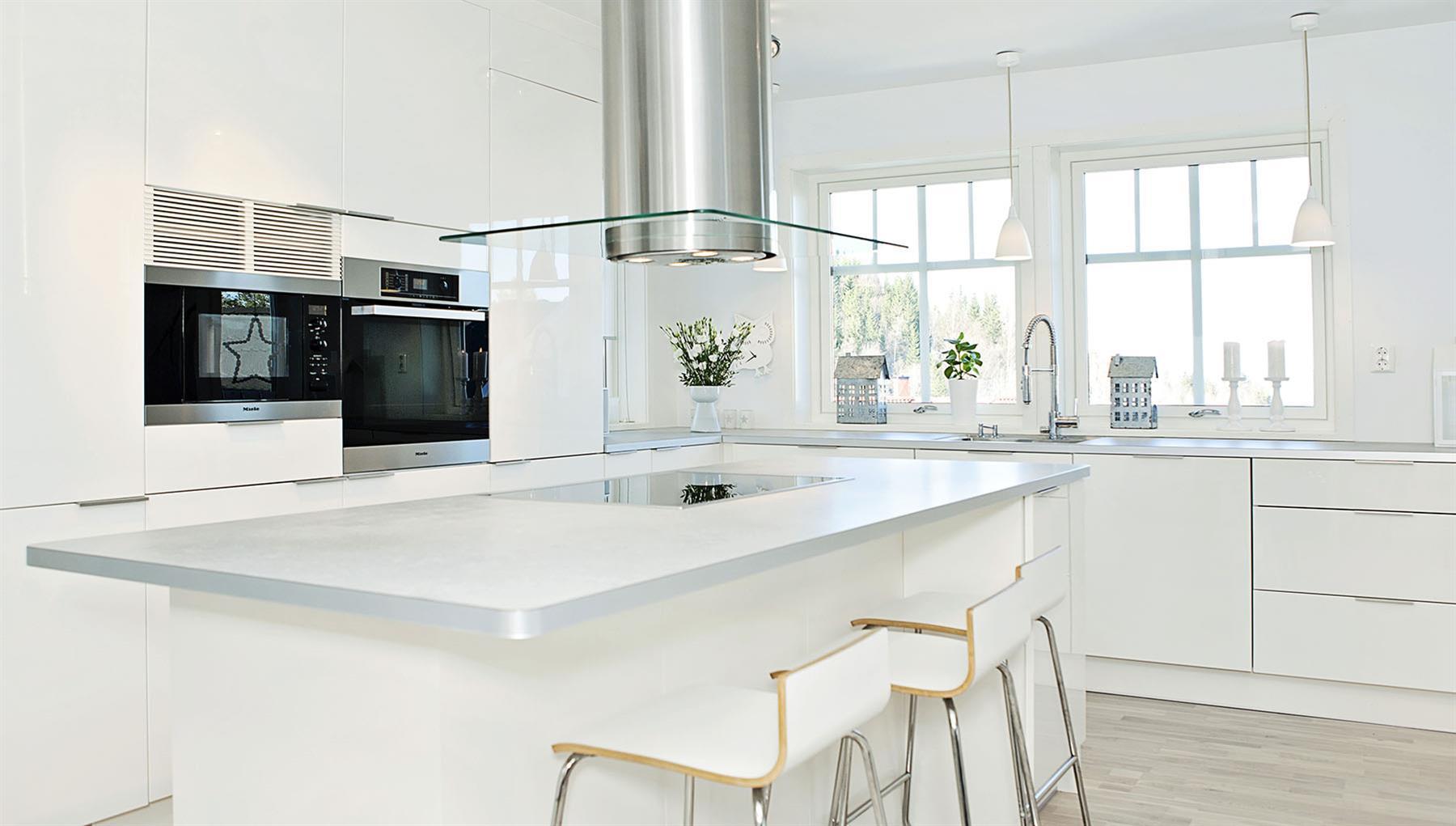 Vifte over kjøkkenøy