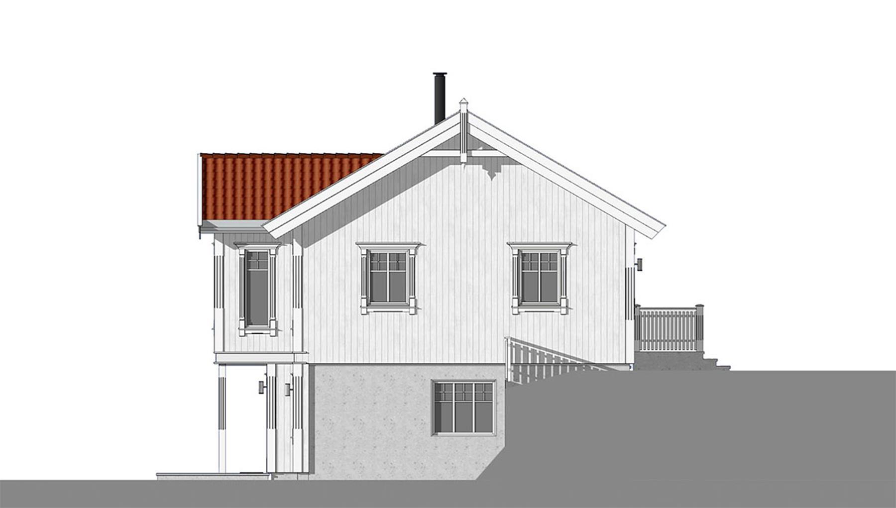 Korsfjord fasade 2