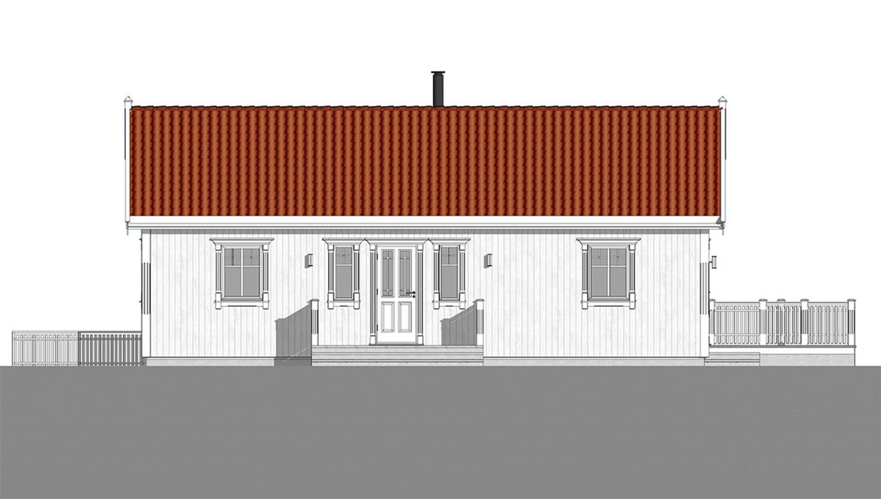 Korsfjord fasade 3