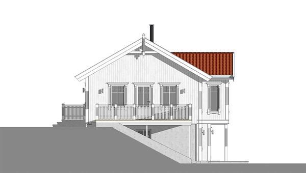 Korsfjord fasade 4