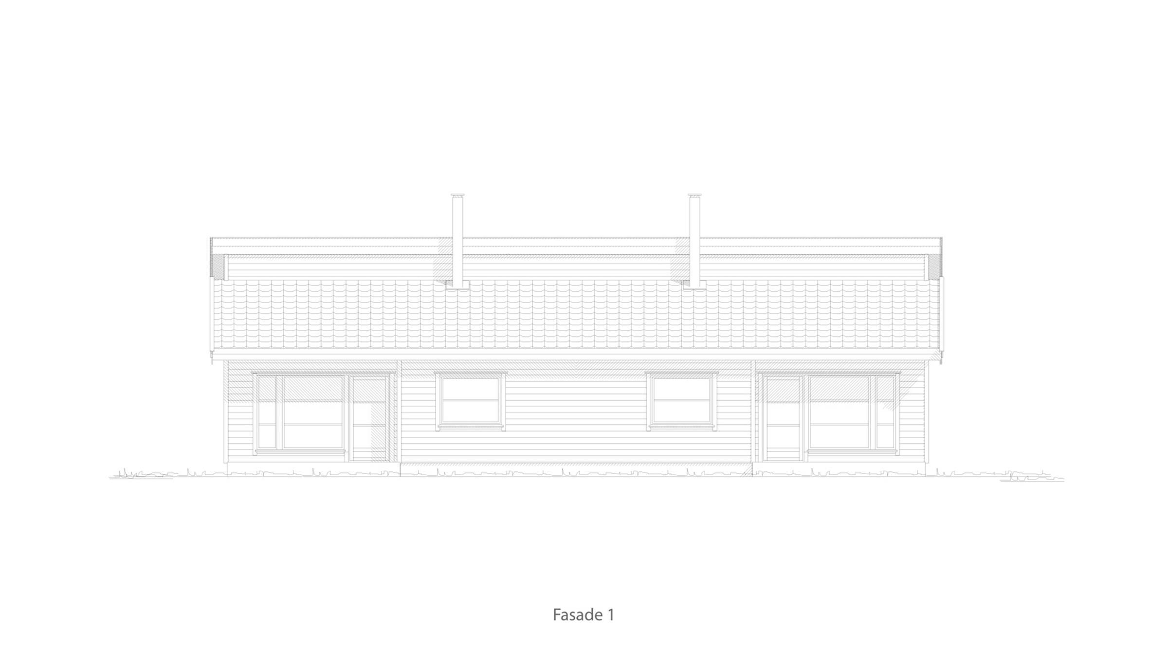 Larvik fasade 1
