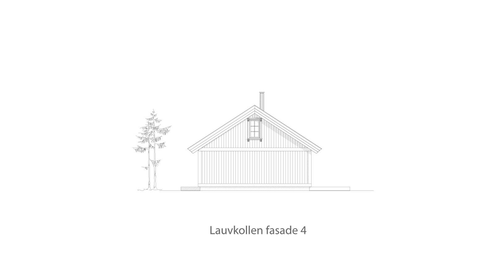 Lauvkollen fasade 4
