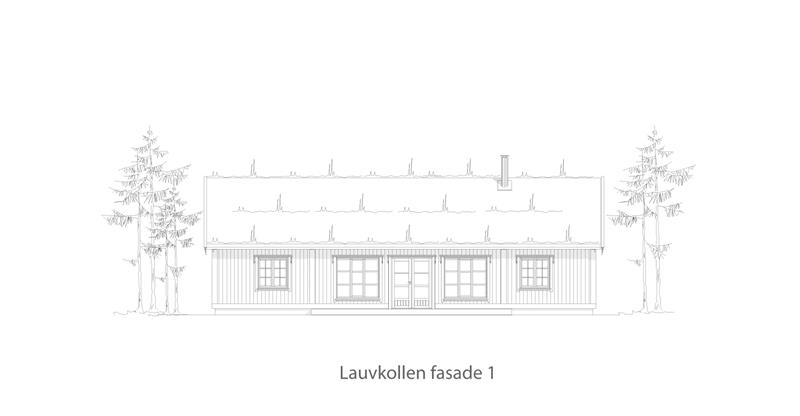 Lauvkollen fasade 1