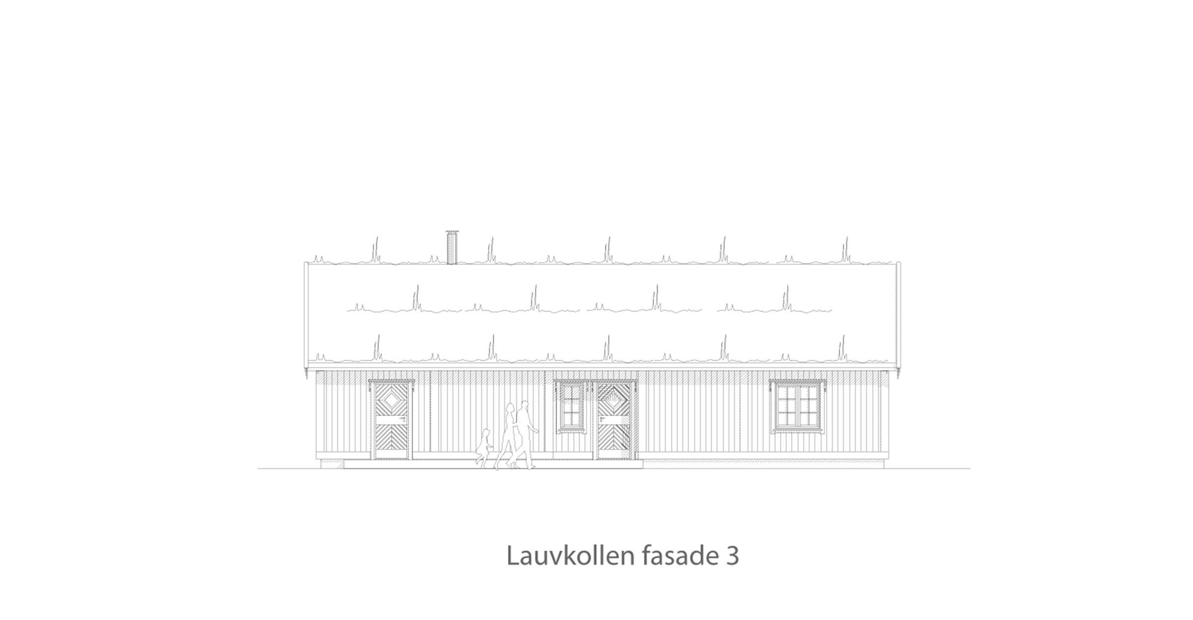 Lauvkollen fasade 3
