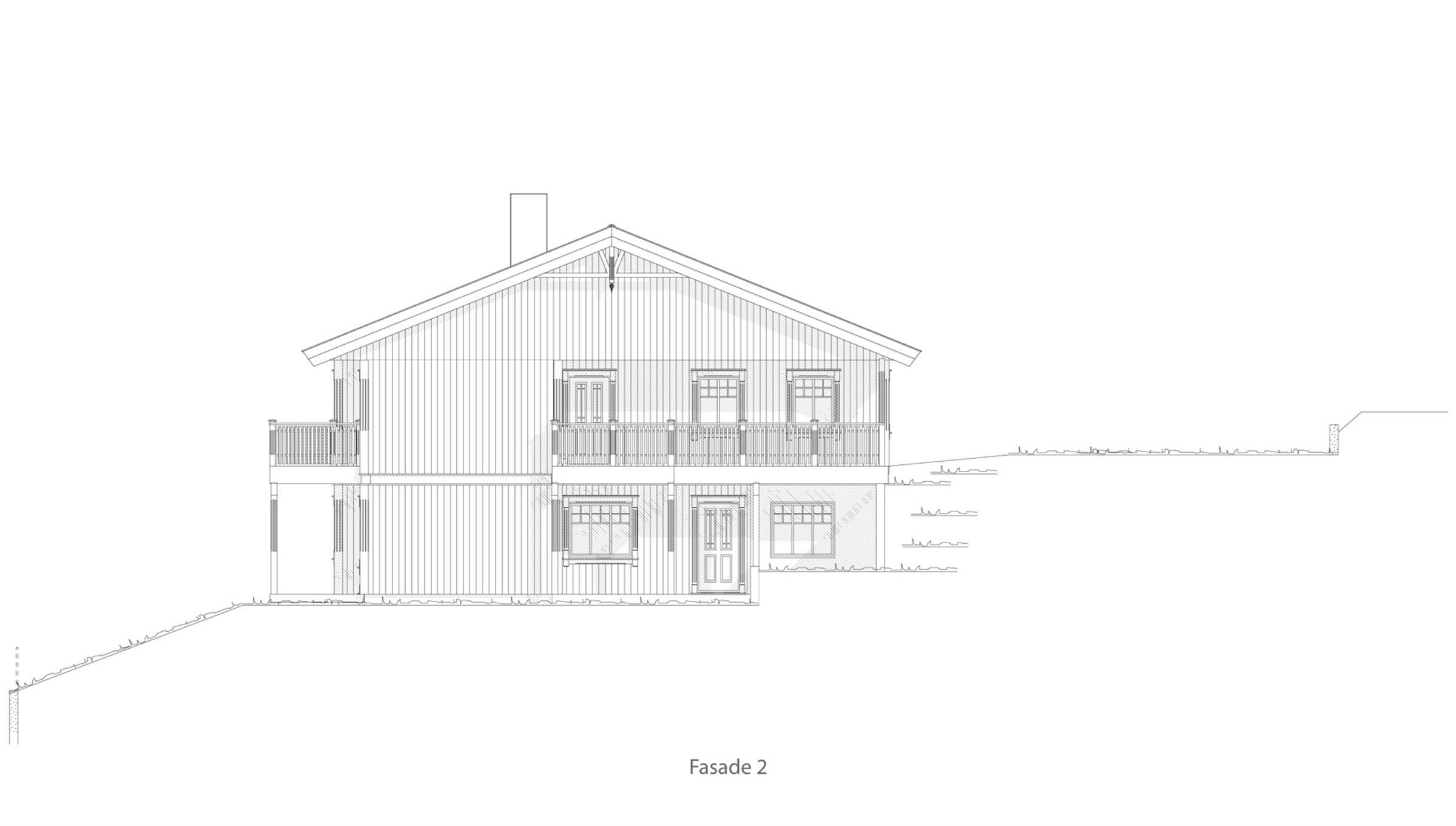 Leknes fasade 2