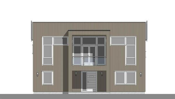 Marmorøy fasade 1