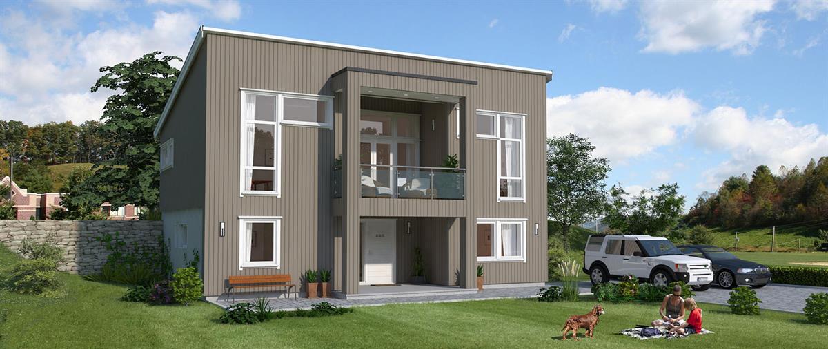 Hus 1 Norge Moderne Marmorøy eksteriør