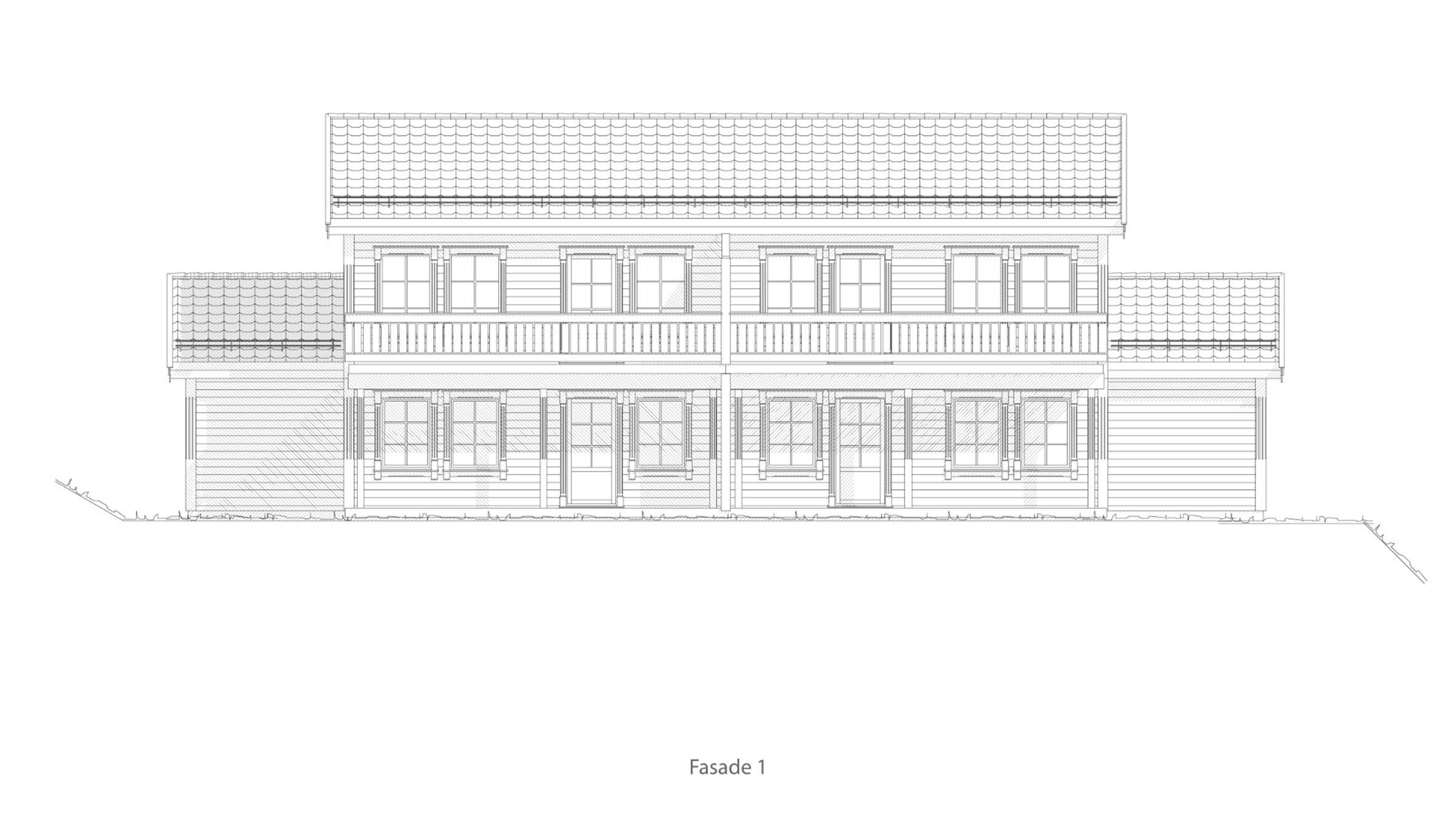 Molde fasade 1