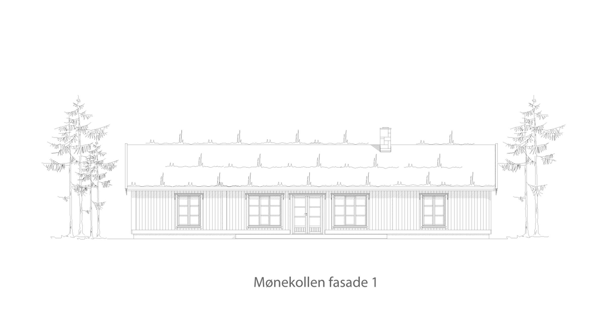 Mønekollen fasade 1