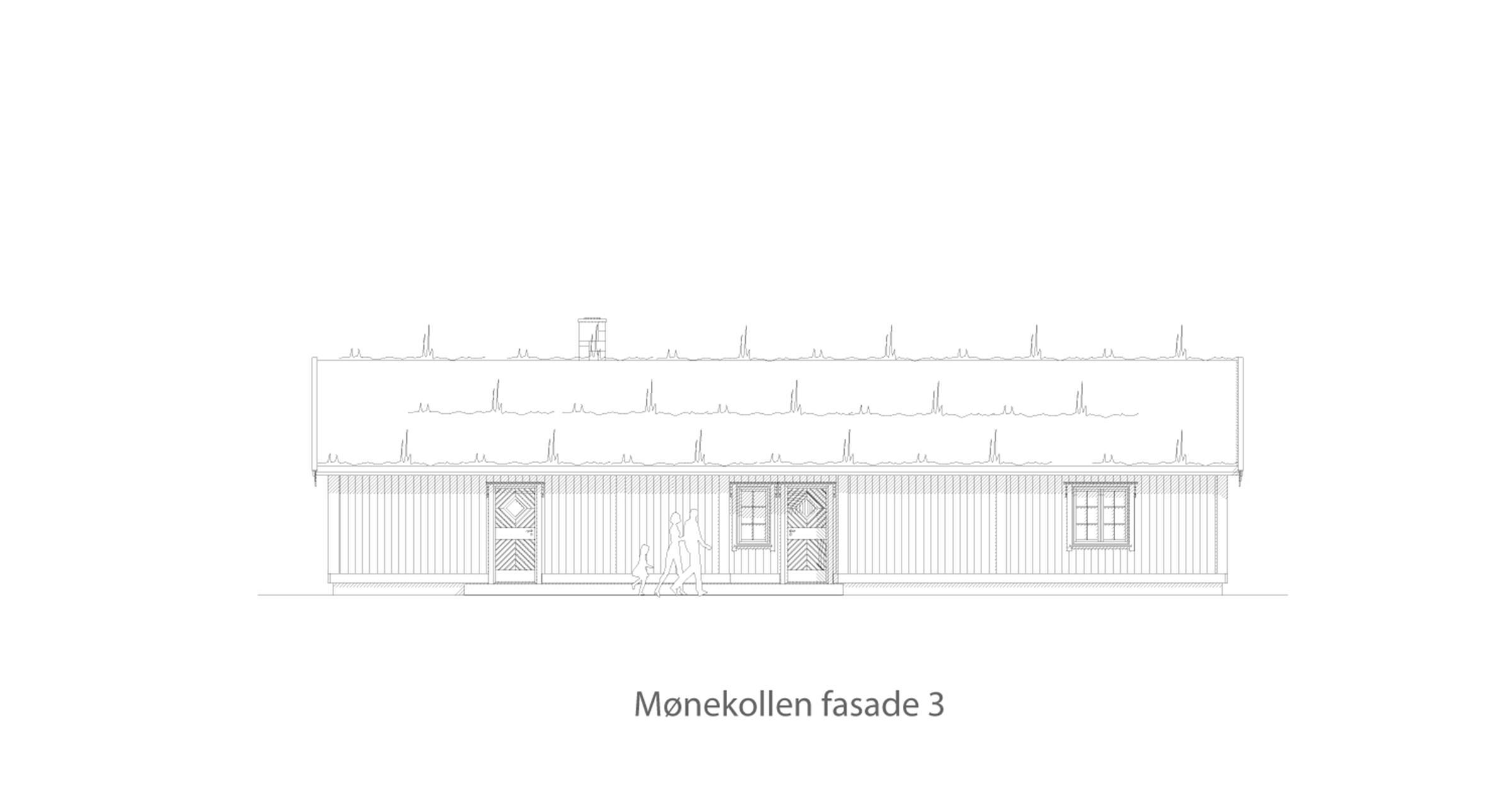 Mønekollen fasade 3