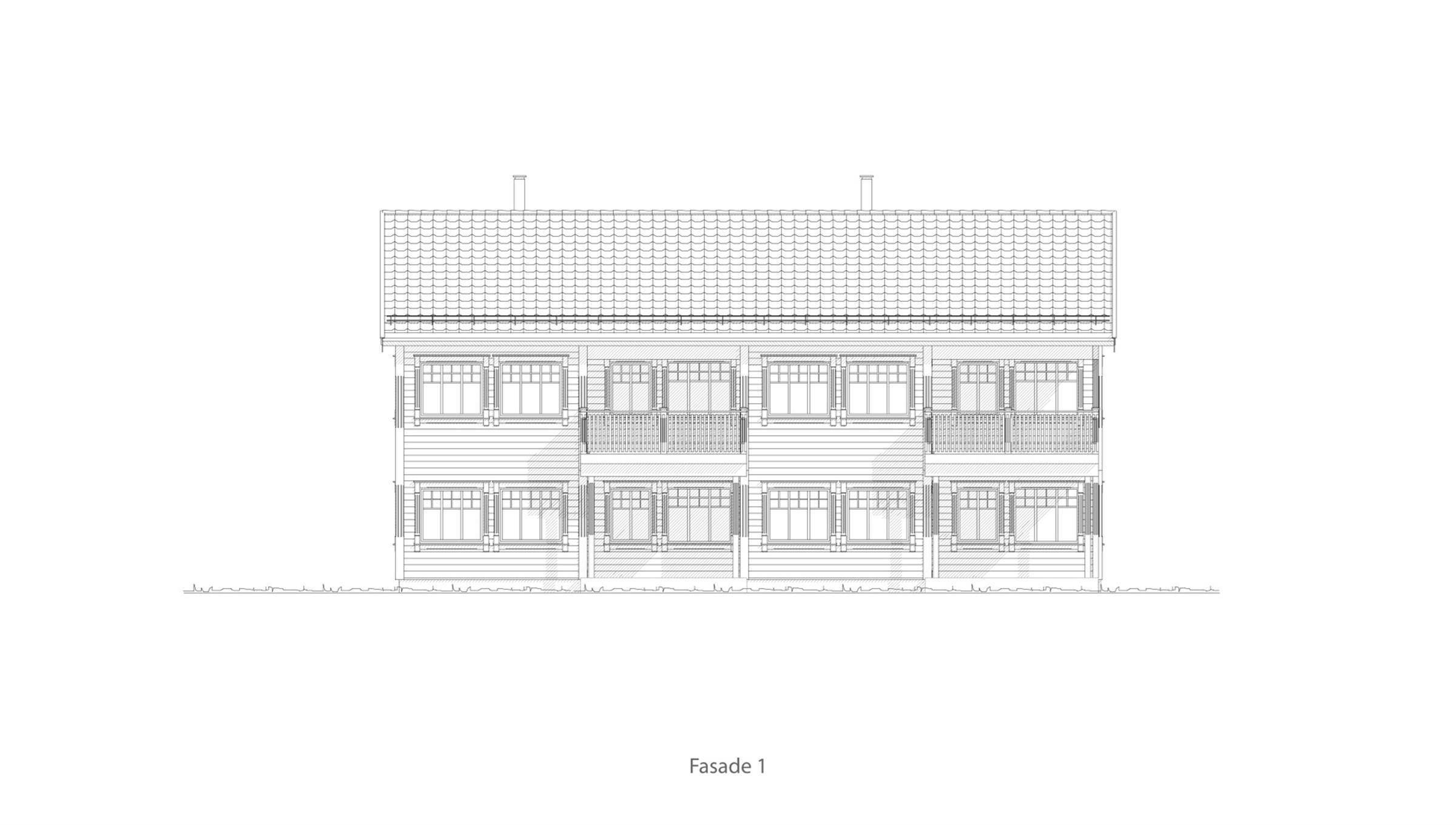 Orkanger fasade 1