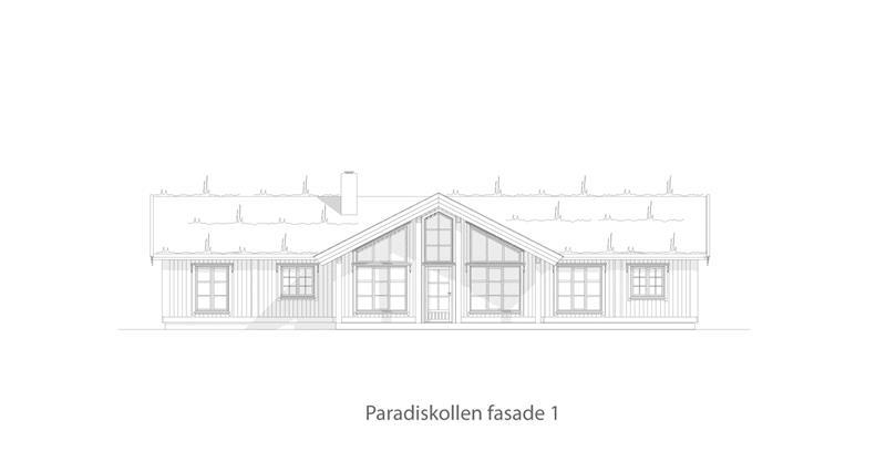 Paradiskollen fasade 1