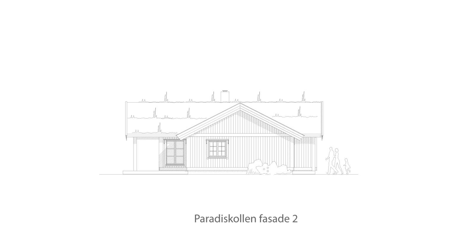Paradiskollen fasade 2