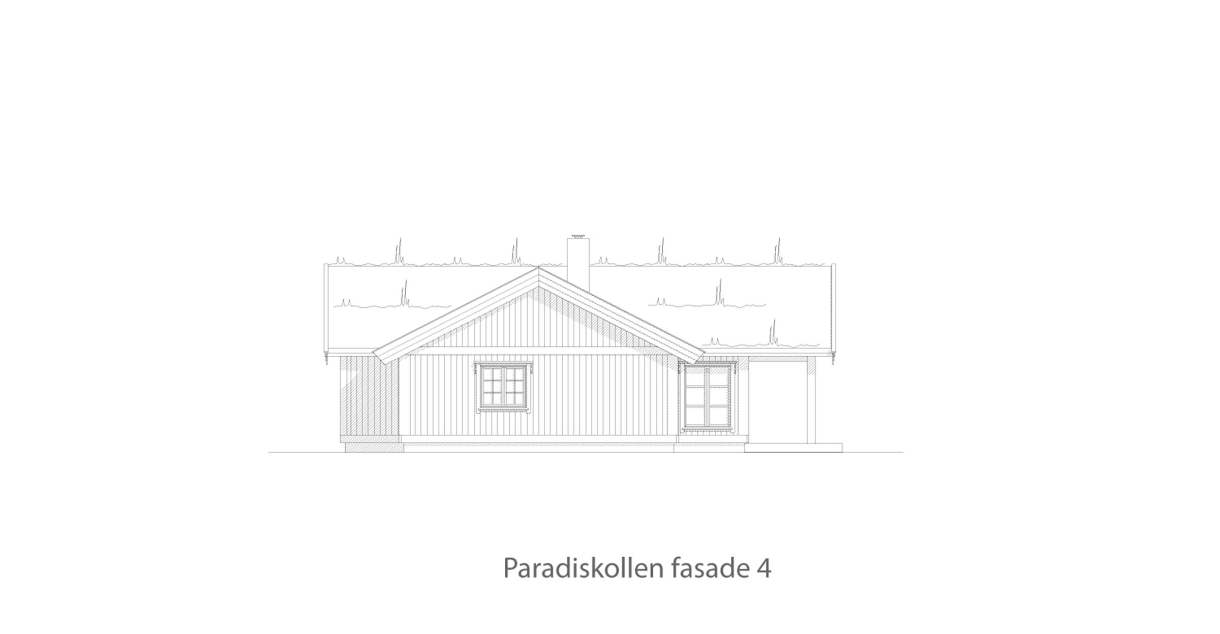 Paradiskollen fasade 4