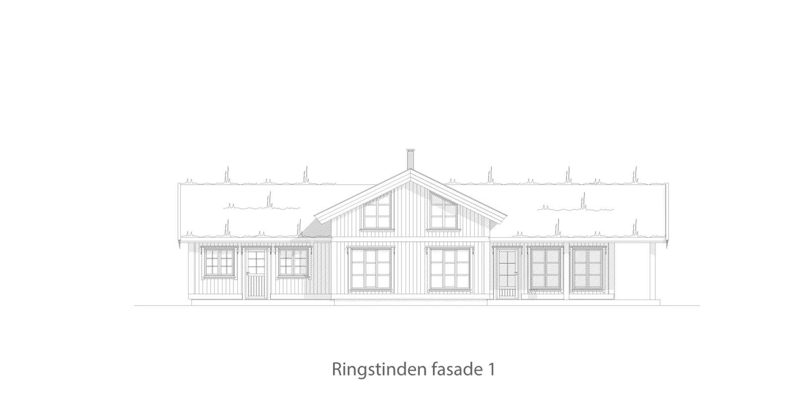 Ringstinden fasade 1